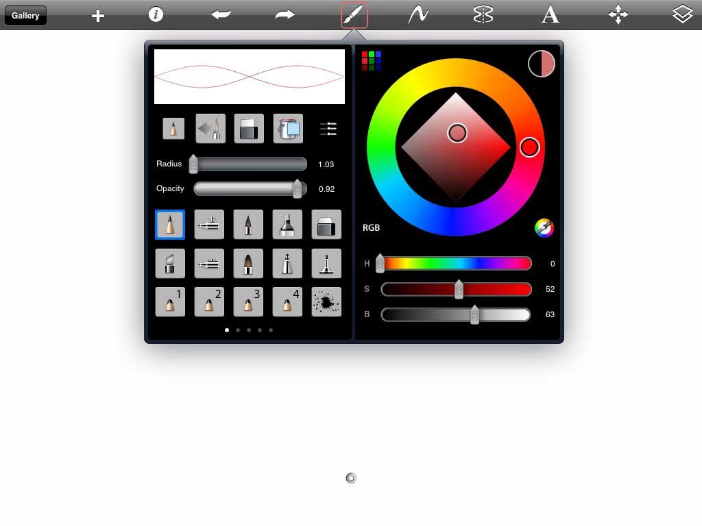 iOS App Spotlight – LivingRoom and SketchBook Pro – The