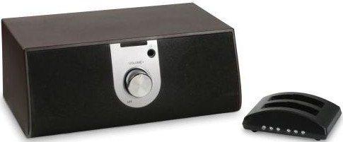 hammacher schlemmer wireless tv speaker