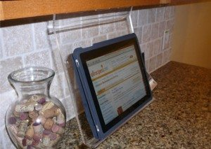 Ipad Kitchen Original Kitchen Ipad Rack The Gadgeteer