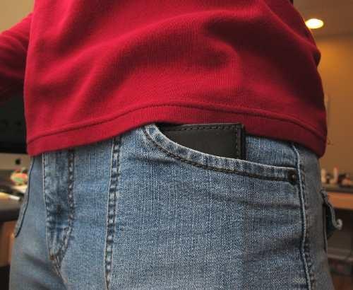 Wallet Jeans Pocket Front Pocket of my Jeans