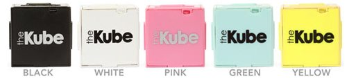 thinkgeek kube mp3 player