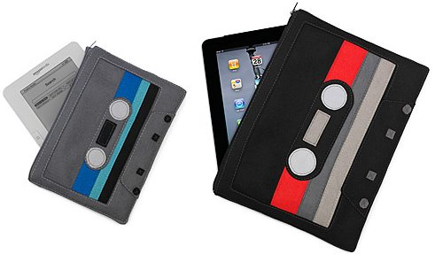 uncommongoods cassette case for ipad and ereaders