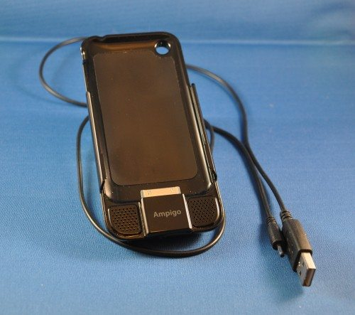 Ampigo Battery Case with USB charger