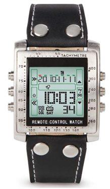 hammacher schlemmer television remote control watch