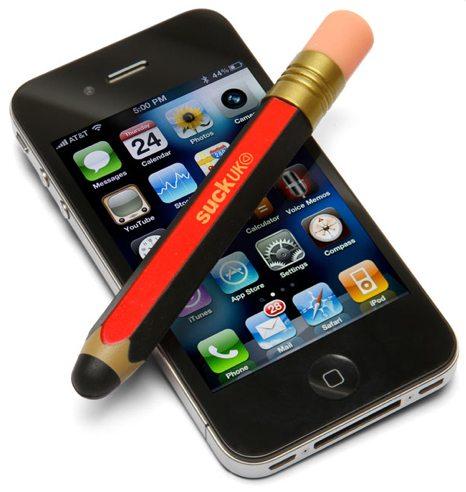 thinkgeek giant pencil touchscreen stylus