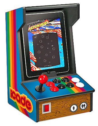 thinkgeek icade gaming console for ipad
