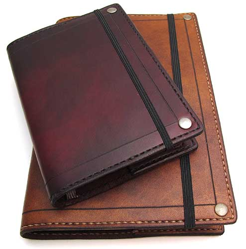 moleskine leather