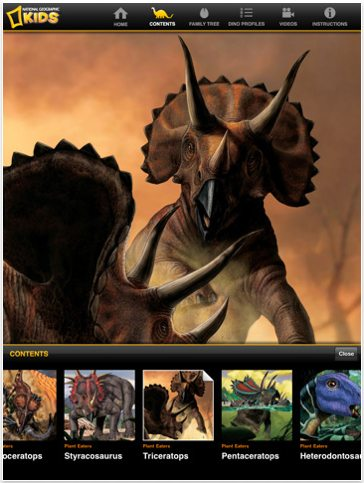 ultimate dinopedia app ipad