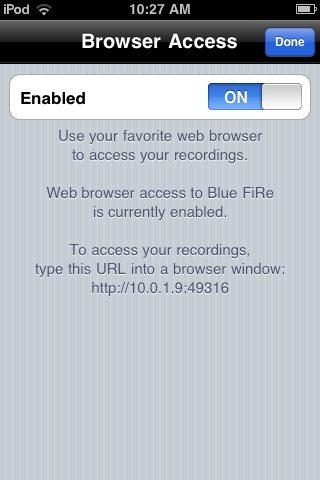 BluFiRe BrowserAccess