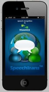 SpeechTrans-iphone-app