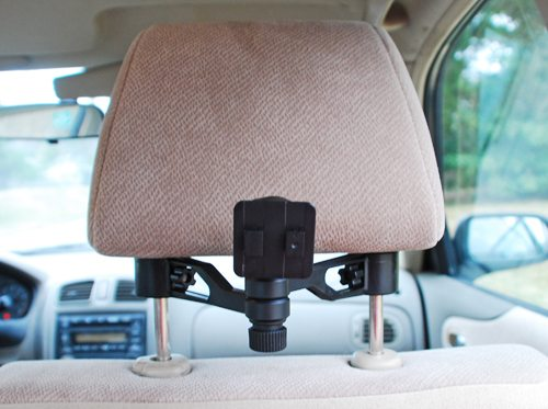arkon rear seat headrest mount and custom fit protective holder for apple ipad review the. Black Bedroom Furniture Sets. Home Design Ideas