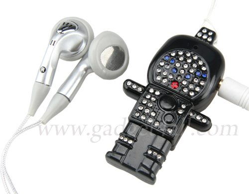 gadget4all robot mp3 player