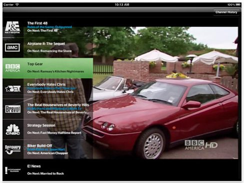 time warner cable app ipad