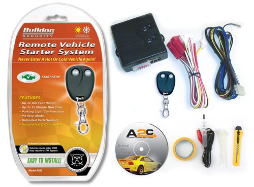 remote starter for your car from bulldog security