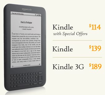 what are amazon kindle special offers