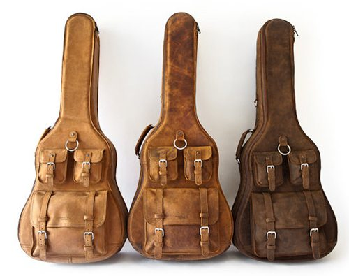 whipping post leather guitar cases the gadgeteer. Black Bedroom Furniture Sets. Home Design Ideas