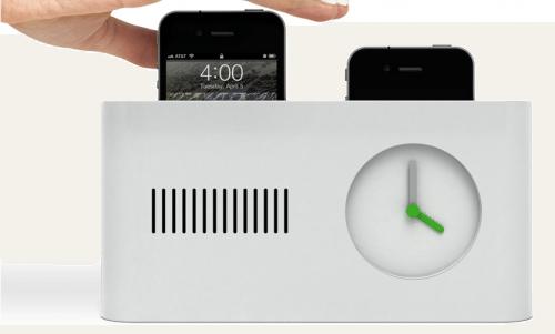 concept iPhone toaster alarm