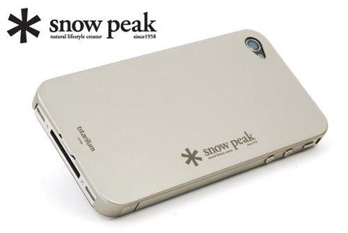 snowpeak iphoneTiCover
