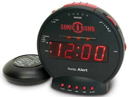 Alarm Clocks From Sonic Alert Can Get Your College