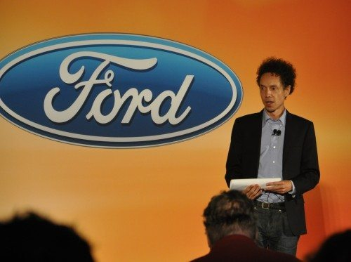Malcolm Gladwell kicks off the event