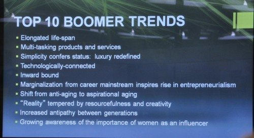 Trends affecting an Aging Population