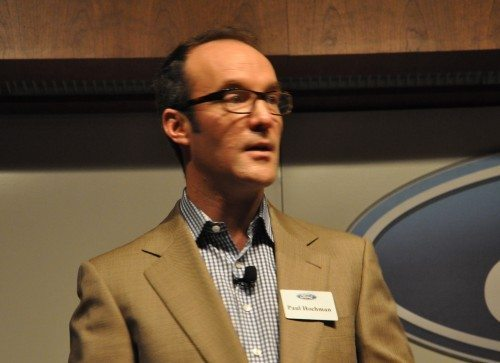 Paul Hochman led the diccussion of Ford Engineers talking about Emerging Technologies