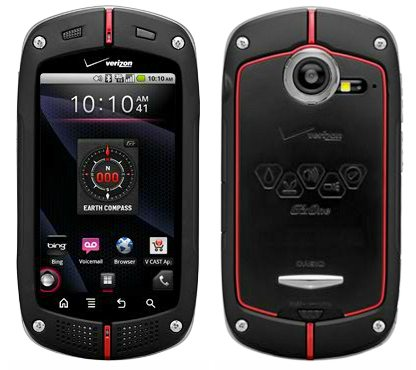 casio g zone android phone