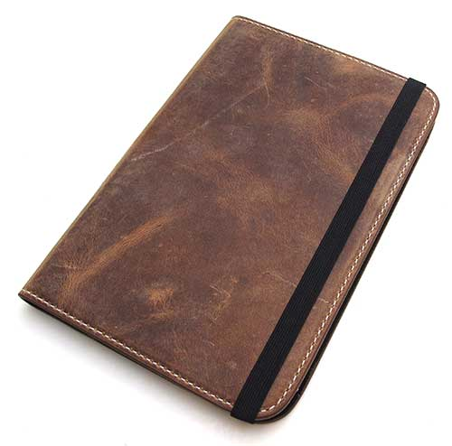 OCTOVO Kindle 3rd gen Vintage Leather Book Cover Review