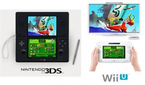 wii u and 3ds game platform