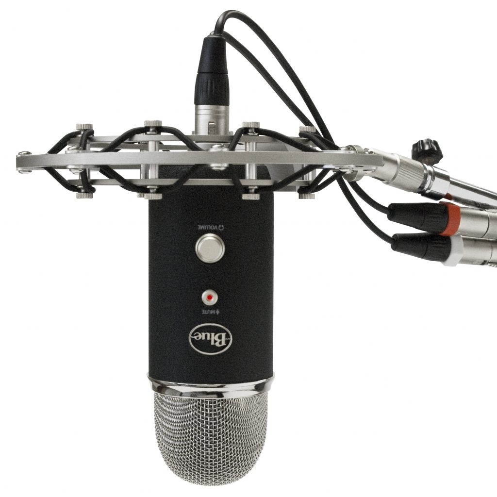 Blue Microphones Announces Radius Shockmount For Yeti