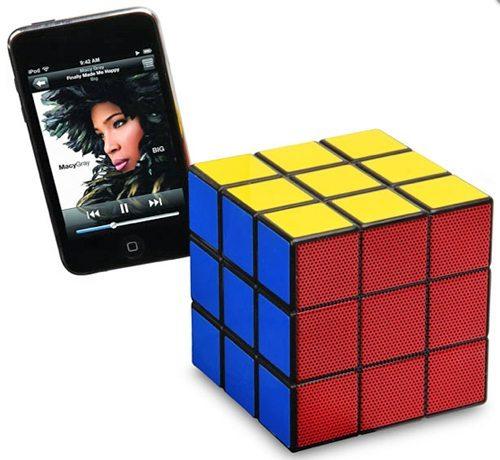 rubics cube speaker