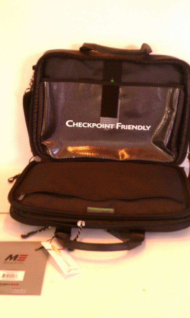 TSA friendly.  Laptops placed in the checkpoint friendly Mobile Edge ScanFast allow you to go through security checkpoints with minimal hassle