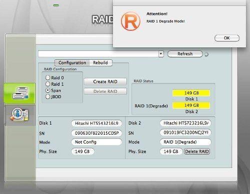 Data Watch DataTale PAIR 2 5-inch 2-Bay RAID Enclosure