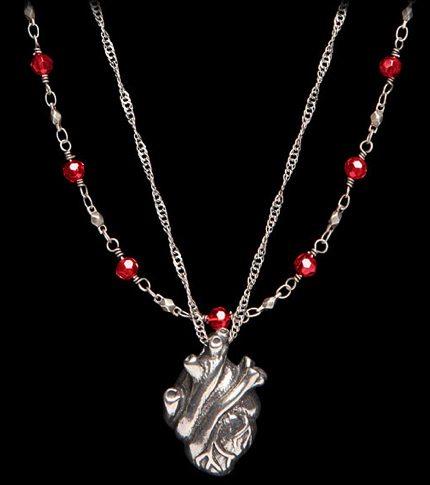 thinkgeek heart necklace