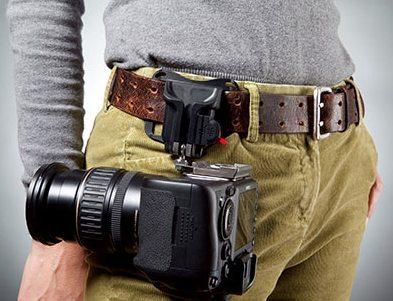 black widow camera holster