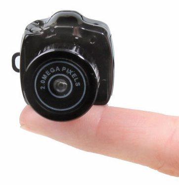 hammacher schlemmer smallest camera