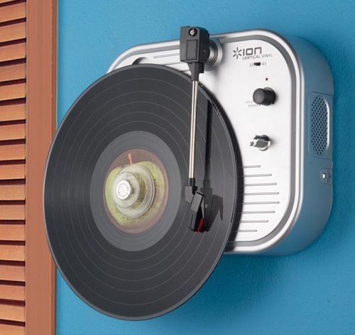 Ion Vertical Turntable The Gadgeteer