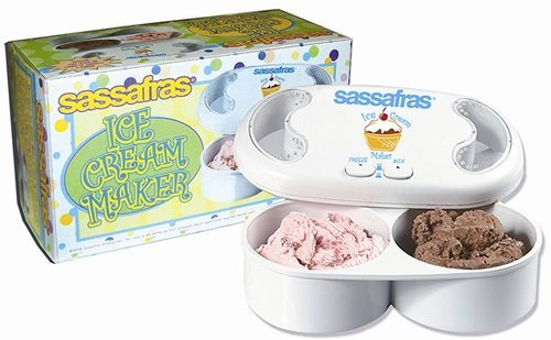 sassafras ice cream maker instructions