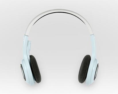 Logitech headset straight