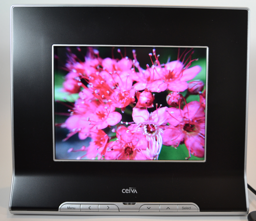 ceiva pro 80 connected digital photo frame review