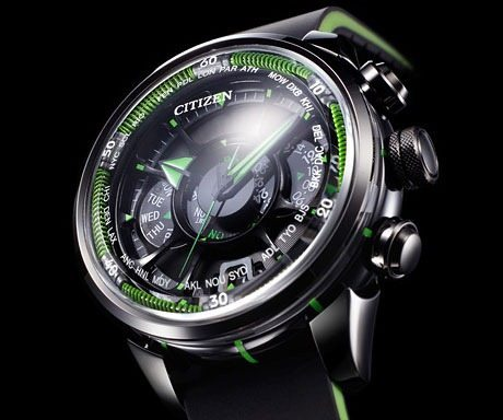 how to set local time on citizen eco drive
