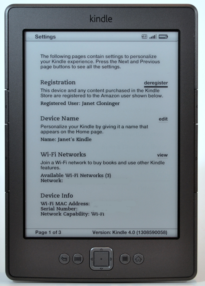 Updating your kindle store experience