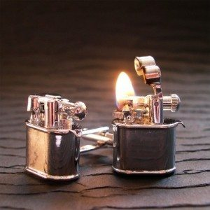 lighter-cuff-links
