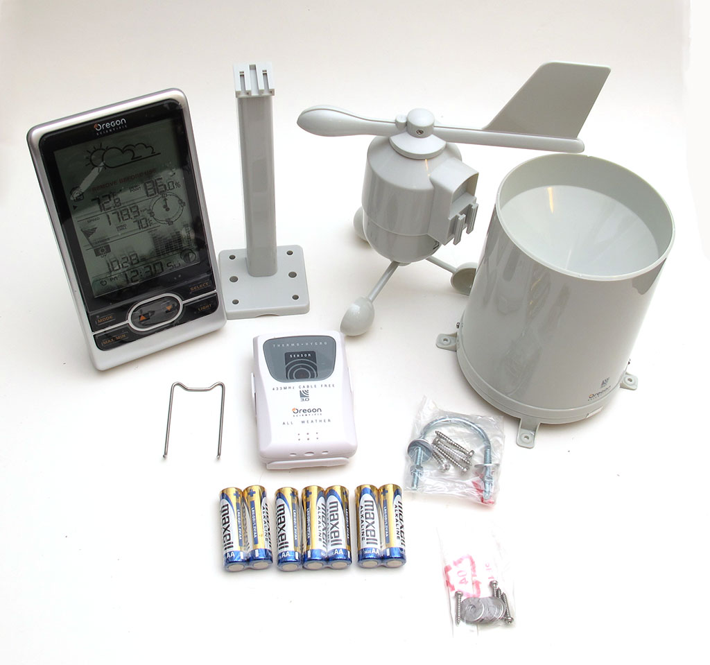 oregon scientific wmr86 backyard pro wireless weather station review