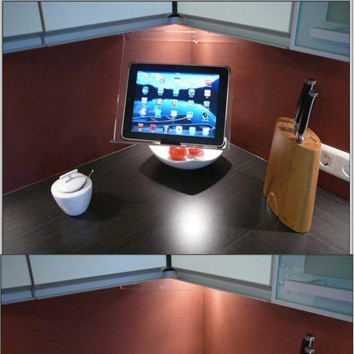 Ipad Holder For Kitchen | The Original Kitchen Ipad Rack Has Been Updated The Gadgeteer