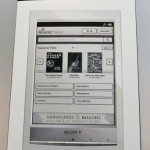 Sony Reader Wi-Fi (PRS-T1) eBook Reader Review