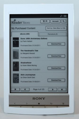 sony prs t1 wifi reader 13