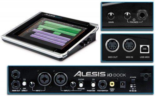 alesis io dock pro audio dock for ipad ipad 2 drippler apps games news updates. Black Bedroom Furniture Sets. Home Design Ideas