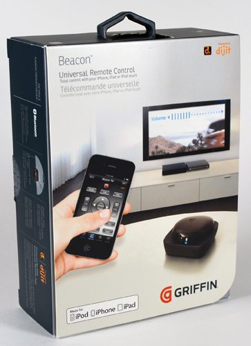 Griffin Beacon Universal Remote Control System for i, iPod