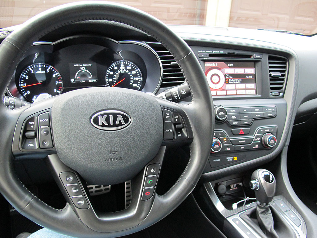 2011 Kia Optima Sx Turbo Test Drive The Gadgeteer